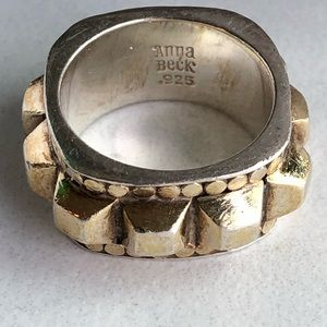 ANNA BECK NORDSTROM Silver & Gold Statement  Ring